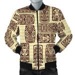 Hawaiian Polynesian Tiki 3D Printed Unisex Jacket