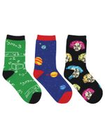 """Kid's """"Relatively Awesome"""" 3-Pack Socks Lovely Birthday Gift Comfortable Unique Socks"""