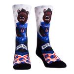 Boise State Broncos - Mascot Walkout Crew Comfortable Funny Cute Unique Socks