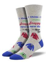 Snappy Dresser Socks Lovely Birthday Gift For Men Women Comfortable Unique Socks