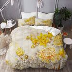 Awesome Yellow Chrysanthemum  Bedding Set Bedroom Decor
