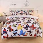 Butterflies Heal Your Paint Printed Bedding Set Bedroom Decor