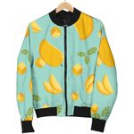 Cheese And Mango Pastel Pattern 3D Printed Unisex Jacket