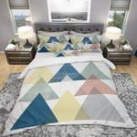 Composition Triangles Pattern 3D Bedding Set Bedroom Decor