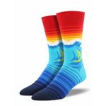 Catch A Wave Comfortable Cute Funny Unique Unisex Socks