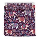 Paisleys Elephant Pattern 3D Bedding Set Bedroom Decor