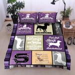 Sleep With A Dachshund Dog Printed Bedding Set Bedroom Decor