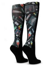 Black Healthy Healthcare Comfortable Cute Funny Unique Unisex Socks