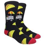 The Taco Stand - Black Comfortable Cute Funny Unique Unisex Socks