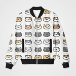 Baby Cute Cat Collage 3D Printed Unisex Jacket
