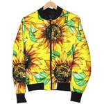 Sunflower Cartoon Pattern 3D Printed Unisex Jacket