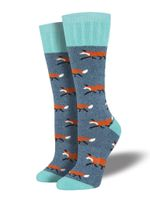 "Outlands - Women's ""Fox"" Socks Comfortable Funny Cute Unique Socks"