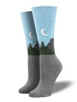"""Recycled Cotton - """"Straight To The Dome"""" Socks Lovely Birthday Gift For Men Women Comfortable Unique Socks"""