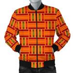 Kente African Pattern 3D Printed Unisex Jacket