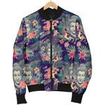 Tropical Buddha Flower 3D Printed Unisex Jacket