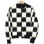 Checkered Flag Pattern 3D Printed Unisex Jacket