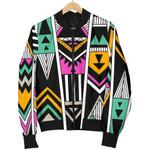 Vintage Tribal Aztec Pattern  3D Printed Unisex Jacket