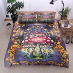Magic Mushroom  Pattern Bedding Set Bedroom Decor