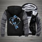 Believe Love You U 3D Printed Unisex Fleece Zipper Jacket