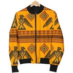 Eagle Aztec Pattern 3D Printed Unisex Jacket
