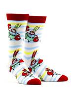 Men's Mr. Krab Socks Comfortable Funny Cute Unique Socks