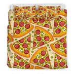 Delicious Pizza Pattern Printed Bedding Set Bedroom Decor