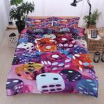 Dice Game Pattern Printed Bedding Set Bedroom Decor