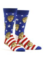 Men's Star Spangled Donald Socks Comfortable Funny Cute Unique Socks