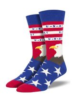 "Men's ""Merica"" Socks Comfortable Funny Cute Unique Socks"