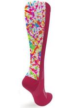 Pink OTC Colors Comfortable Cute Funny Unique Unisex Socks