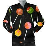 Lollipop Pattern Sky Space 3D Printed Unisex Jacket