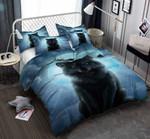 Weird Night Wolf Printed Bedding Set Bedroom Decor