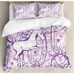Kids Unicorn  Printed Bedding Set Bedroom Decor