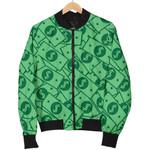 Cartoon Money Dollar  Pattern 3D Printed Unisex Jacket