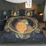Golden Fox Mandala Printed Bedding Set Bedroom Decor