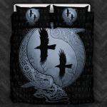 Viking Raven Celtic  Printed Bedding Set Bedroom Decor