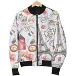 For Who Love Paris And France Pattern 3D Printed Unisex Jacket