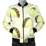 Yummy Tacos Pattern 3D Printed Unisex Jacket