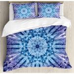 Tie Dye Blue Ocean 3D Bedding Set Bedroom Decor