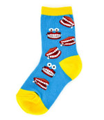 Kid's Chatter Teeth Socks Lovely Birthday Gift Comfortable Cute Funny Unique Socks