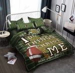 Rugby Ball Quotes 3D Bedding Set Bedroom Decor