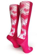 Pink OTC Love Comfortable Cute Funny Unique Unisex Socks