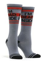 Women's I'm Dead Inside Socks Comfortable Funny Cute Unique Socks