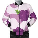 Purple Cute Grape 3D Printed Unisex Jacket