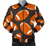 Rugby Ball American Football Club 3D Printed Unisex Jacket