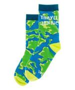 Women's Travel Junkie Socks Funny Cute Unique Socks