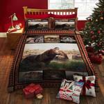 Hippo Wild Life Printed Bedding Set Bedroom Decor