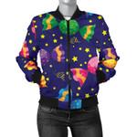 Candy Purple  Pattern 3D Printed Unisex Jacket