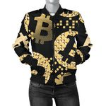 Bitcoin Pattern Art 3D Printed Unisex Jacket