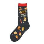 WTF Where's The Food Lovely Birthday Gift For Men Women Comfortable Unique Socks